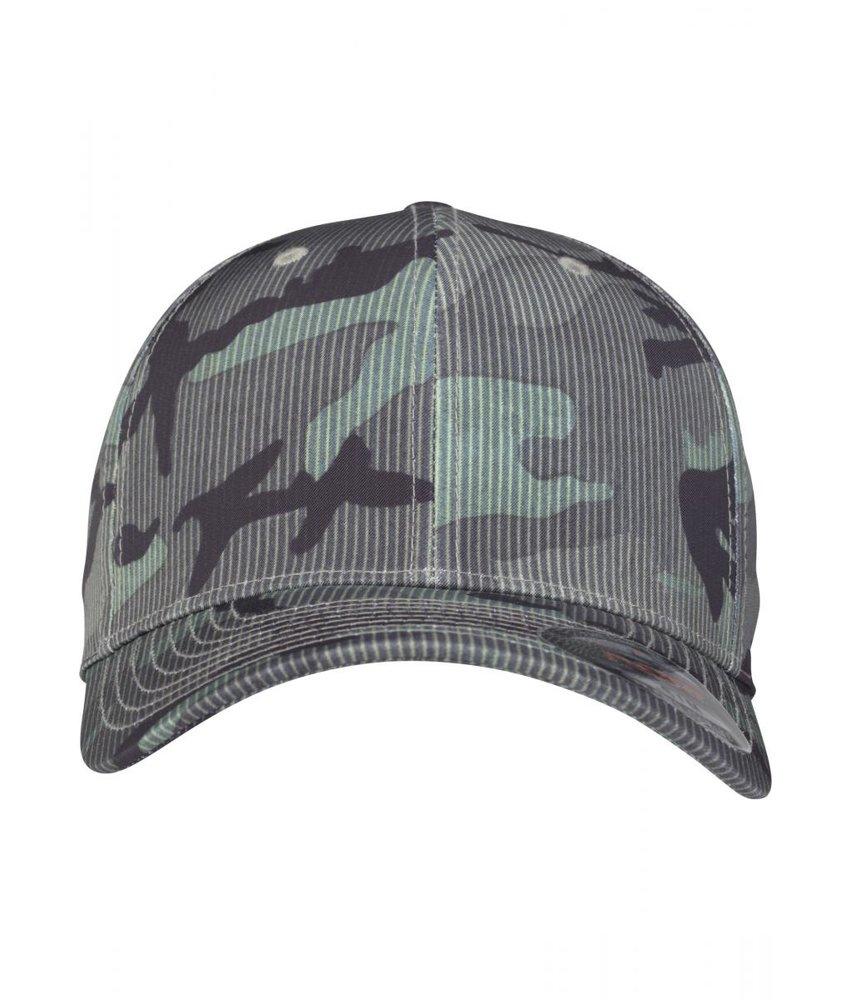 Urban Classics Flexfit Camo Stripe Cap