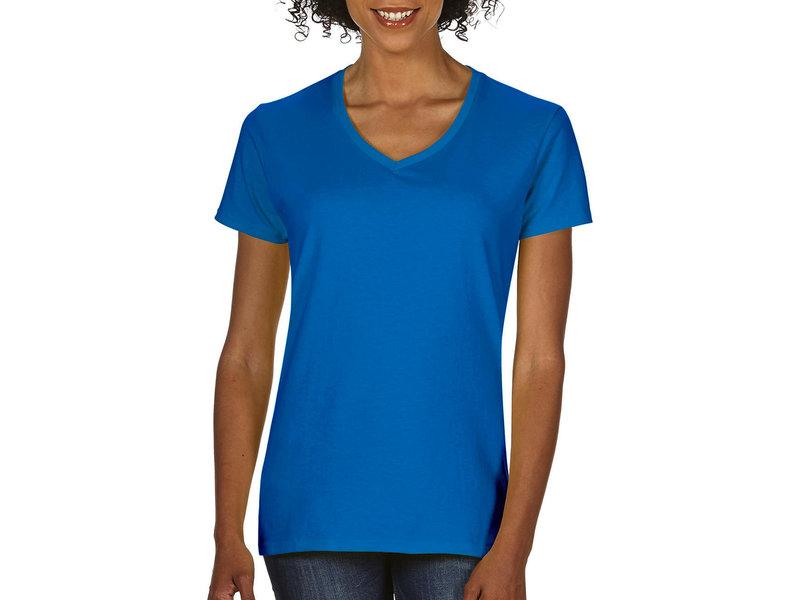 Gildan Premium Cotton Ladies V-Neck T-Shirt
