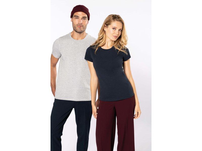 Kariban Dames-t-shirt ronde hals korte mouwen