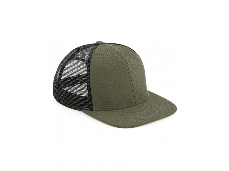 Beechfield Original Flat Peak 6 Panel Trucker