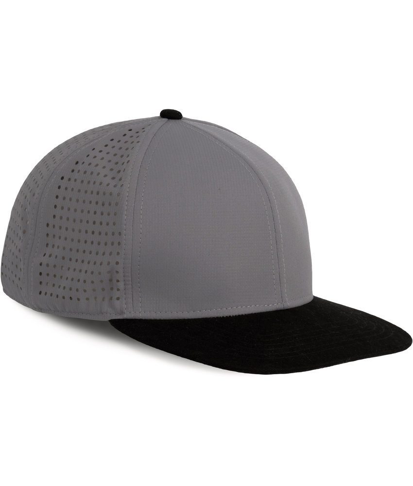 K-UP | KP164 | Micro-perforated Snapback cap - 6 panels