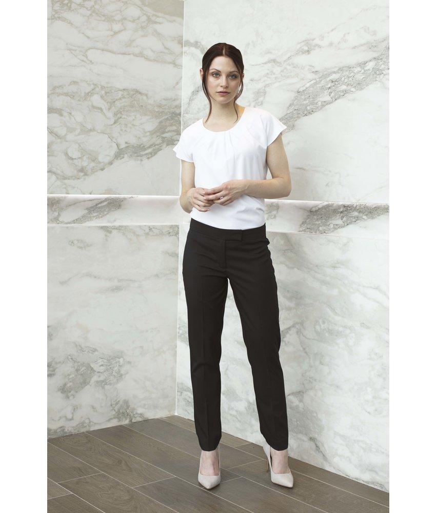 Henbury Ladies pleat front blouse
