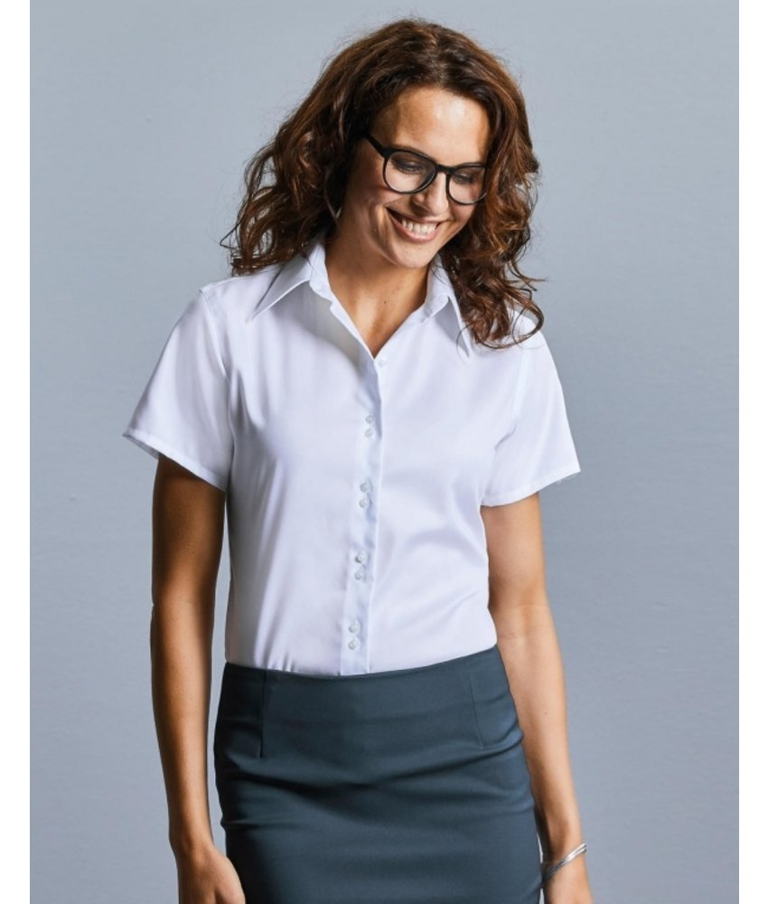 Russell Collection Ladies Ultimate Non-iron Blouse