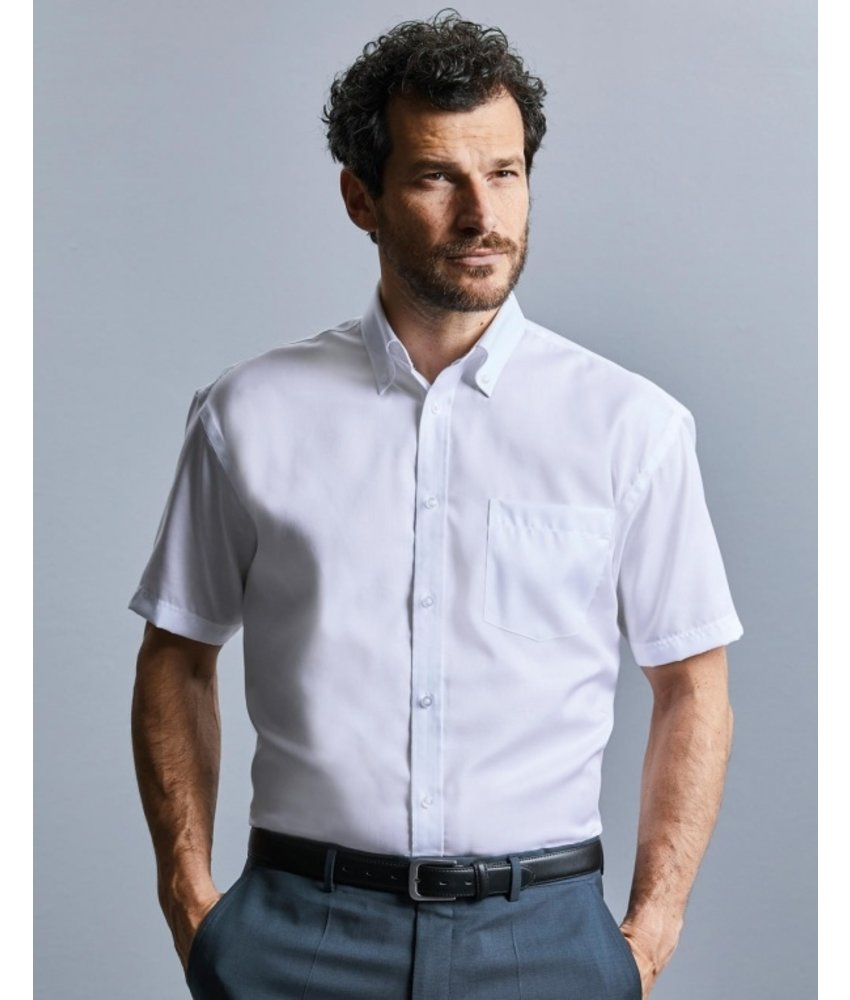 Russell Collection Mens Ultimate Non-iron Blouse