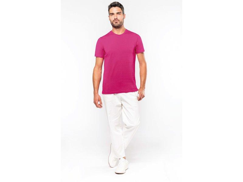 Kariban T-shirt ronde hals korte mouwen