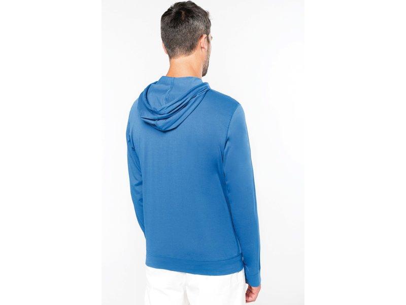 Kariban Hooded vestje in licht katoen