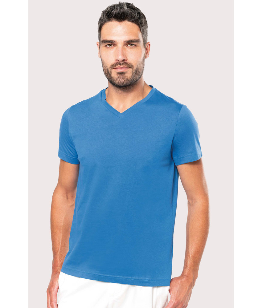 Kariban | K357 | Men's short-sleeved V-neck T-shirt