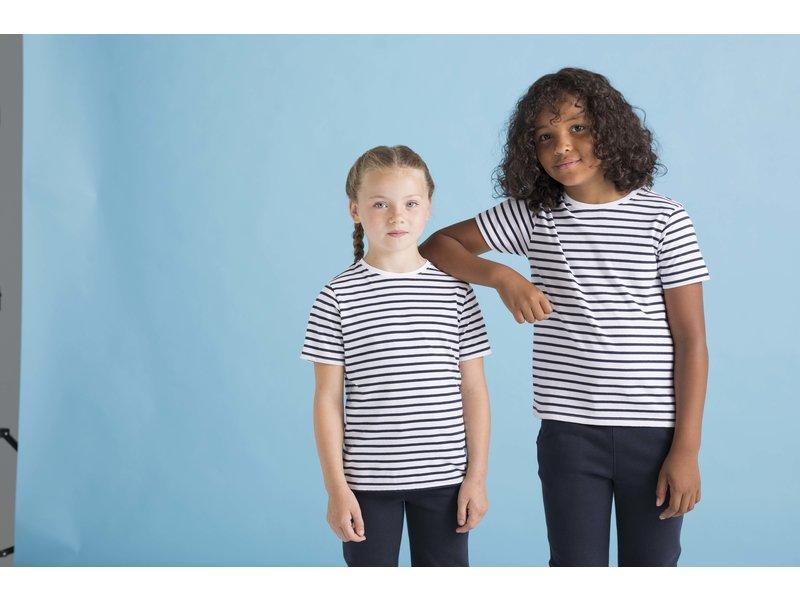 Skinni Fit | SM202 | KIDS' STRIPED T-SHIRT