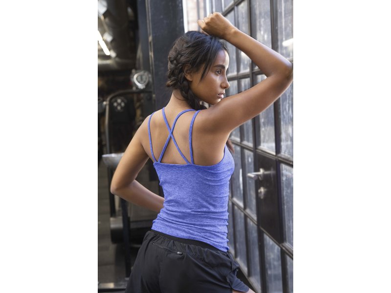 Tombo Teamwear Fade-out strappy vest
