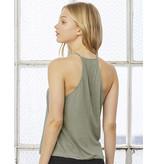 Bella + Canvas Ladies' flowy high neck tank top