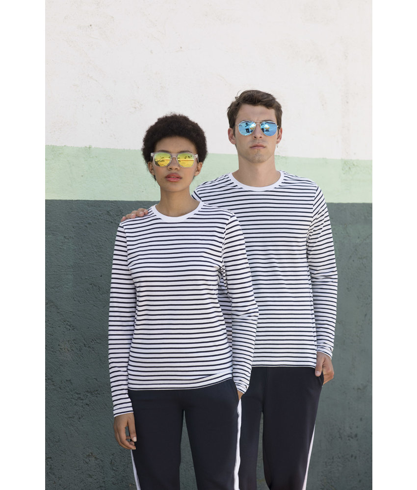 Skinni Fit Long Sleeved Striped T-shirt