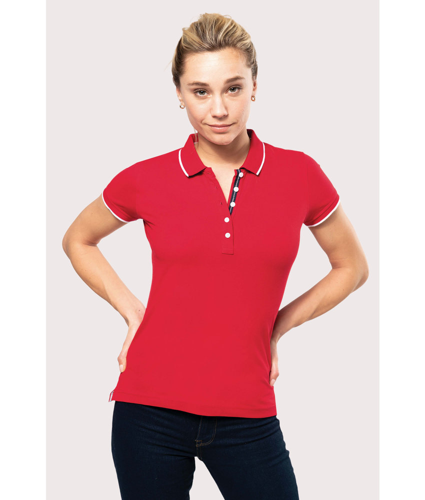 Kariban | K252 | Ladies' short-sleeved piqué knit polo shirt
