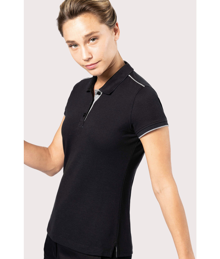 Kariban | K271 | Ladies' short-sleeved contrasting DayToDay polo shirt