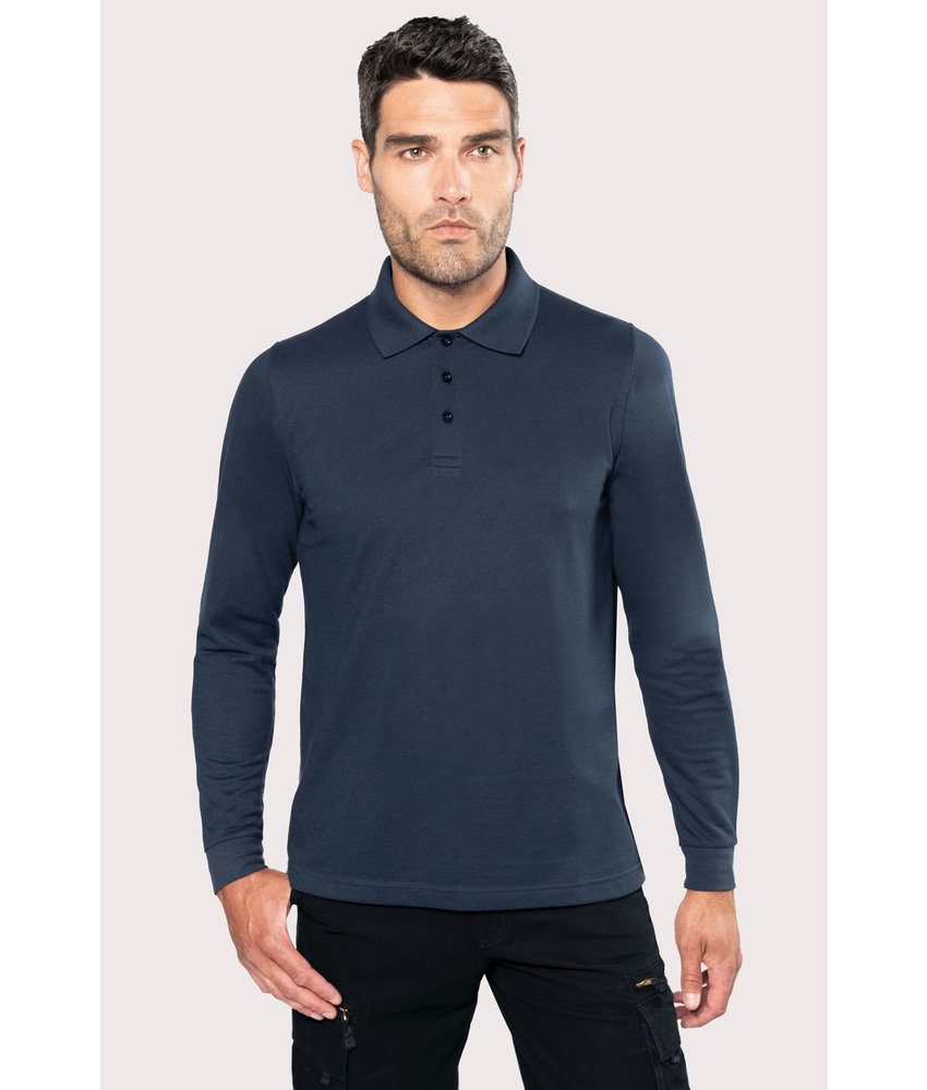 Kariban | K276 | Men's long-sleeved polo shirt