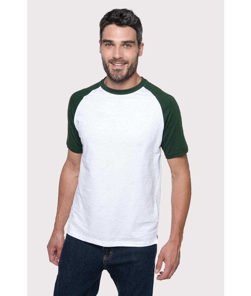 Kariban | K330 | Baseball > Short-sleeved two-tone T-shirt