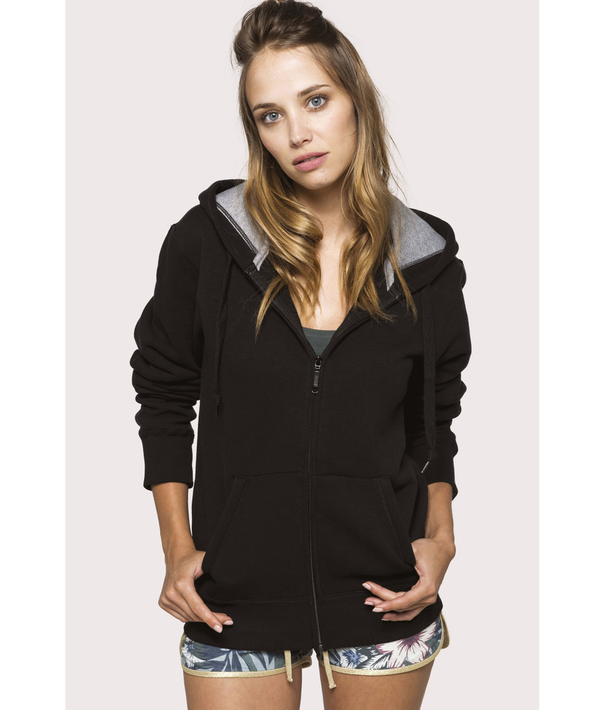 Kariban | K444 | Full zip hooded sweatshirt