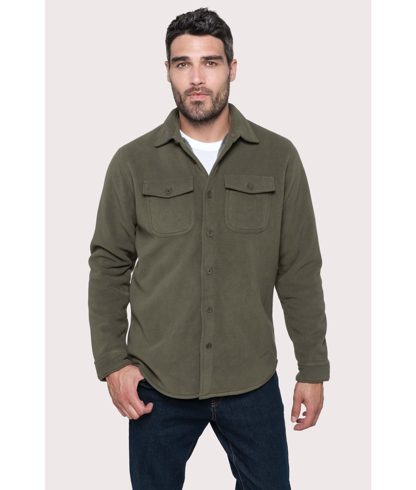 Kariban | K582 | Sherpa-lined fleece overshirt