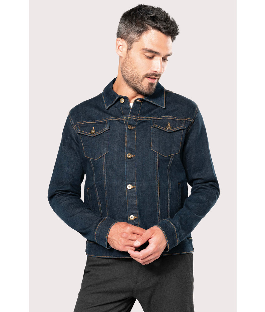 Kariban | K6136 | Men's unlined denim jacket