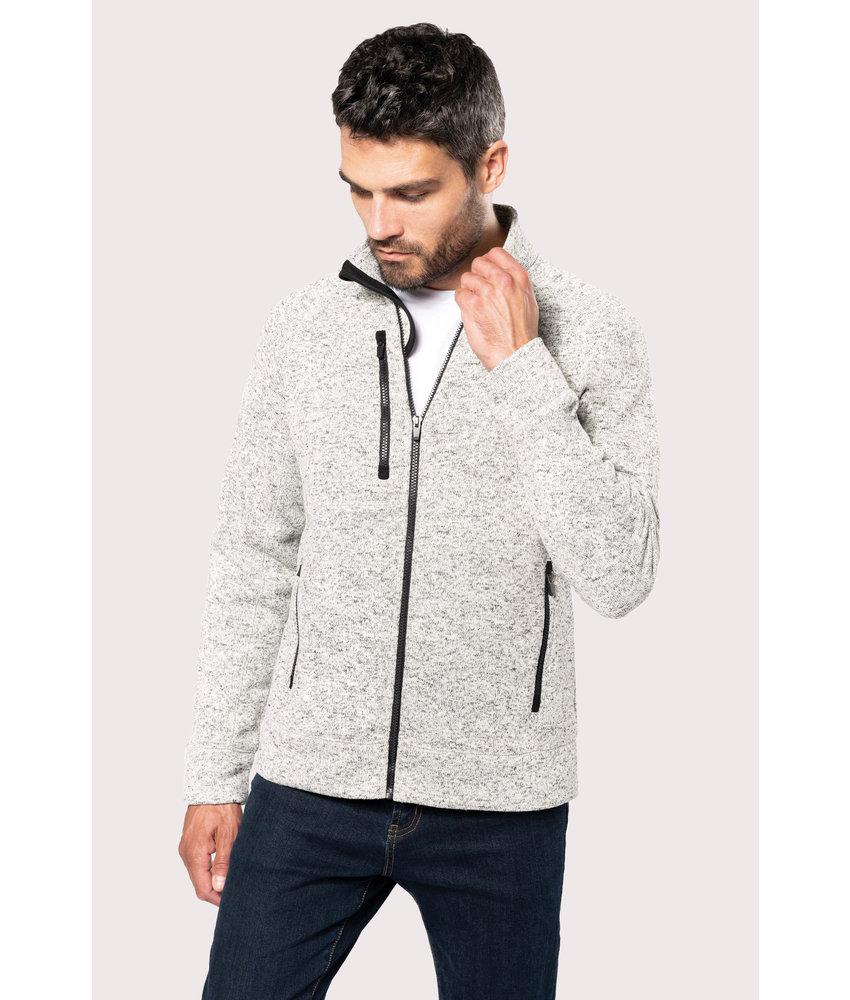 Kariban | K9106 | Men's full zip heather jacket