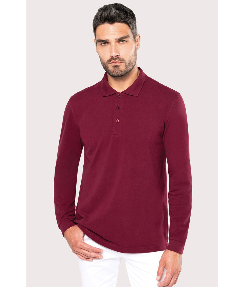 Kariban | K243 | Men's long-sleeved polo shirt