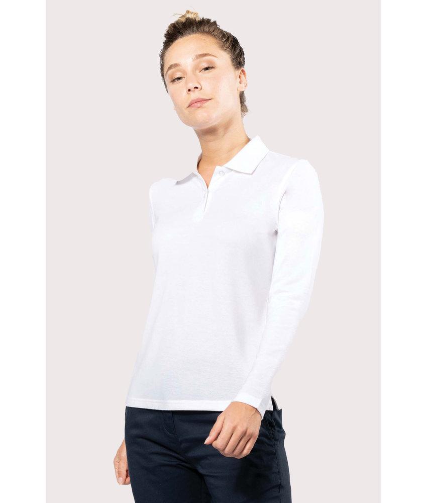 Kariban | K277 | Ladies' long-sleeved polo shirt