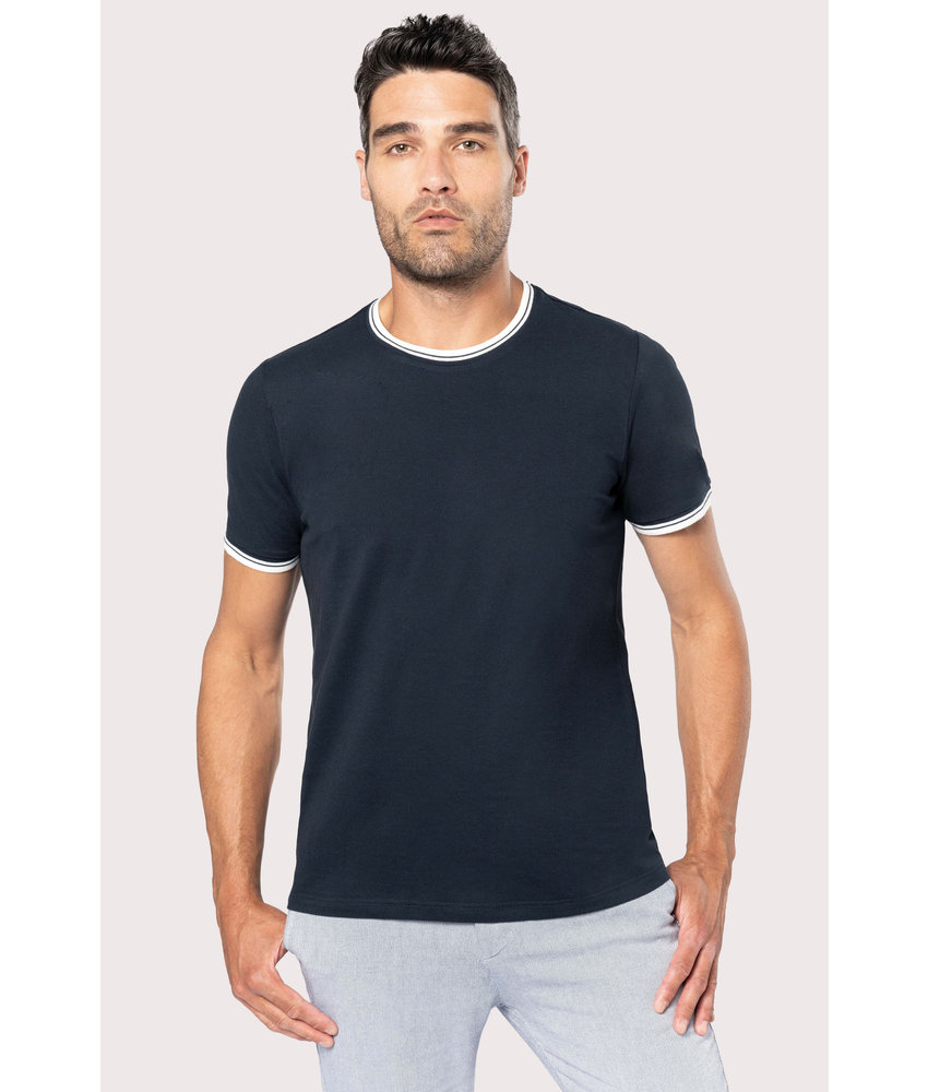 Kariban | K373 | Men's piqué knit crew neck T-shirt
