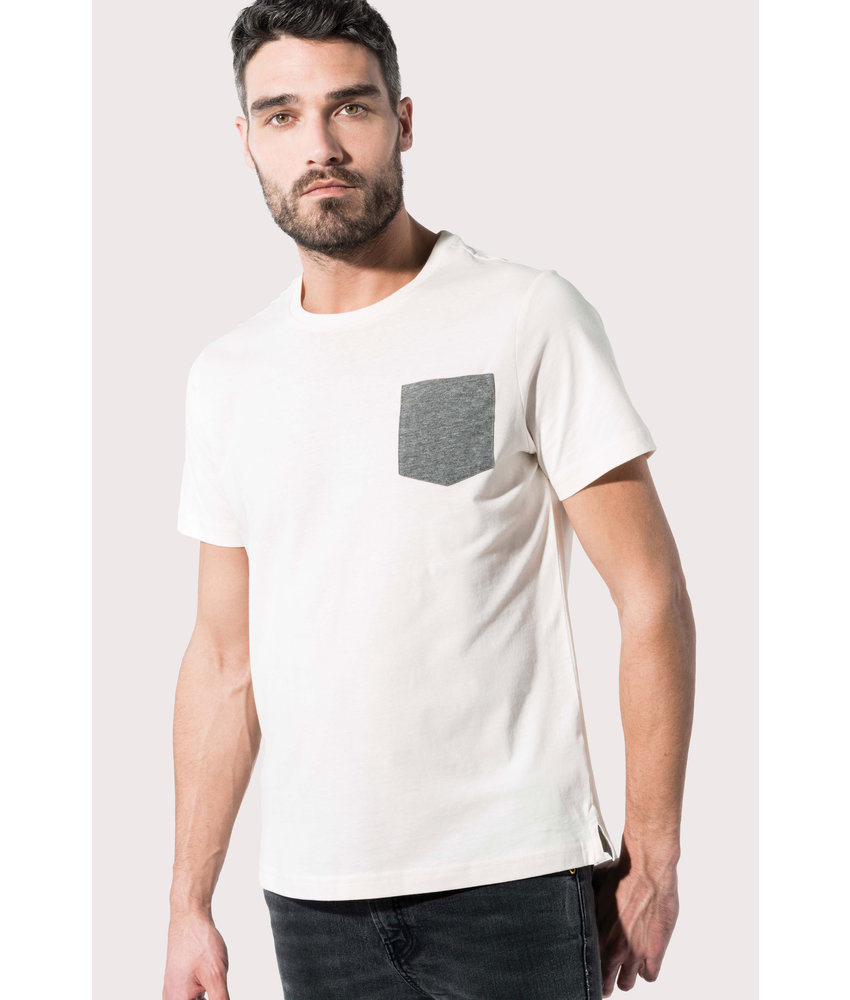 Kariban | K375 | Organic cotton T-shirt with pocket detail