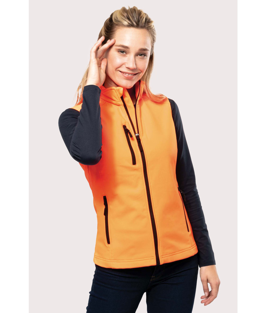 Kariban Dames softshell bodywarmer