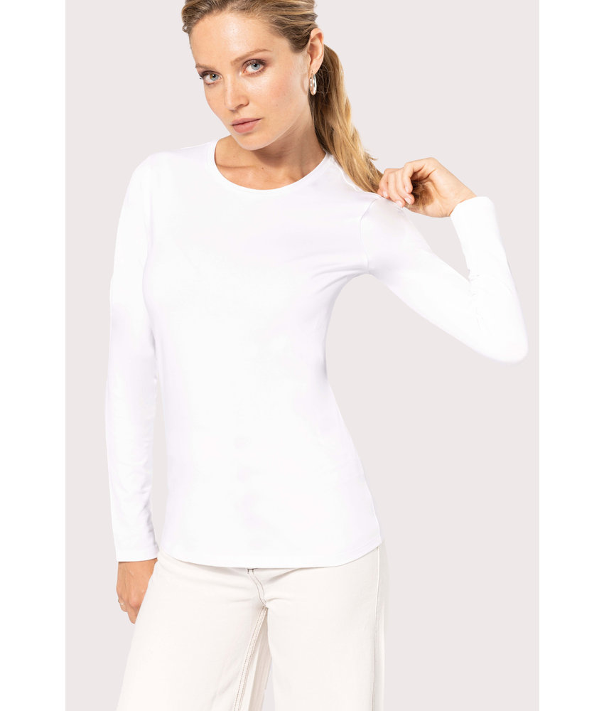 Kariban | K3017 | Ladies long-sleeved crew neck t-shirt