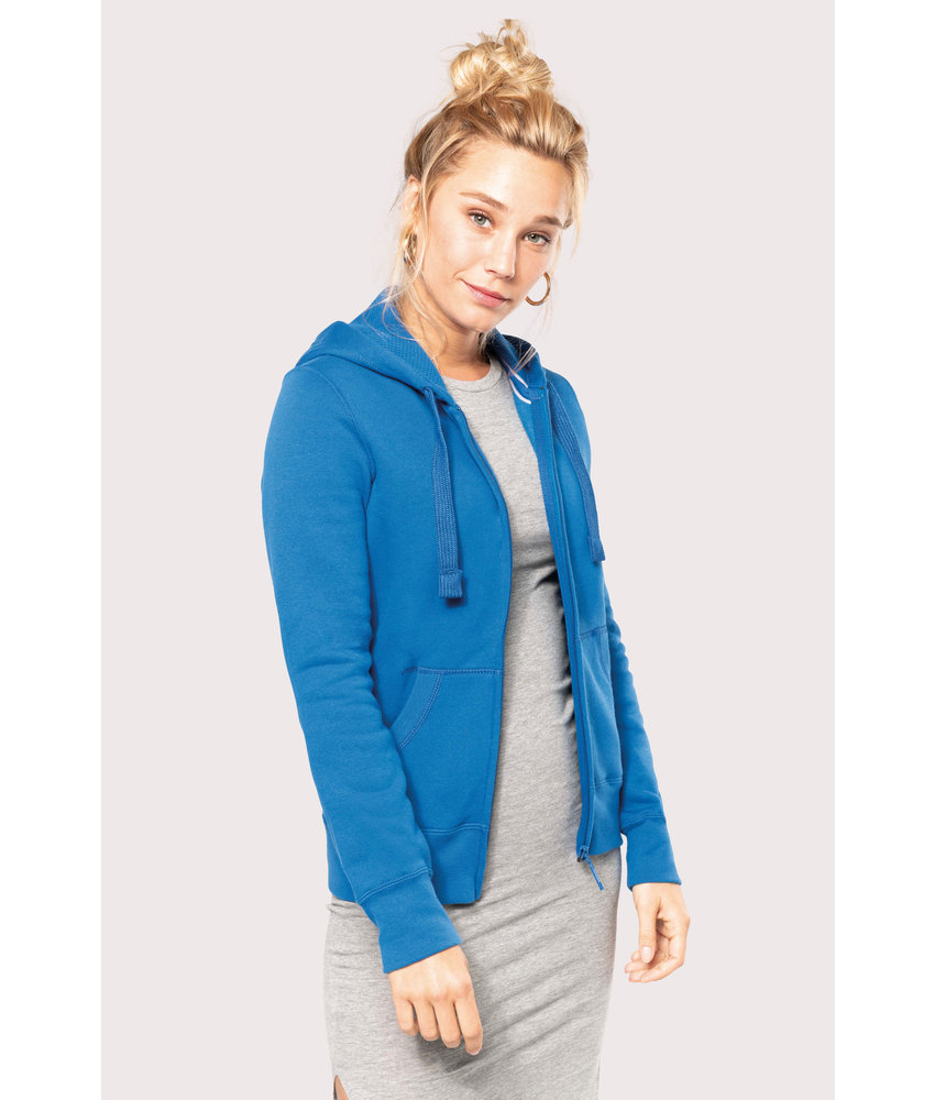 Kariban | K464 | Ladies' full zip hooded sweatshirt
