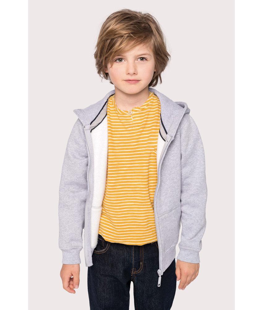 Kariban | K455 | Kids' full zip hooded sweatshirt