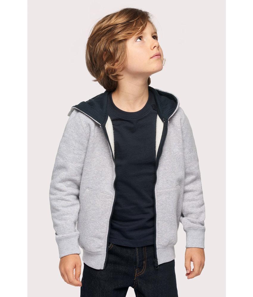 Kariban | K486 | Kids' full zip hooded sweatshirt