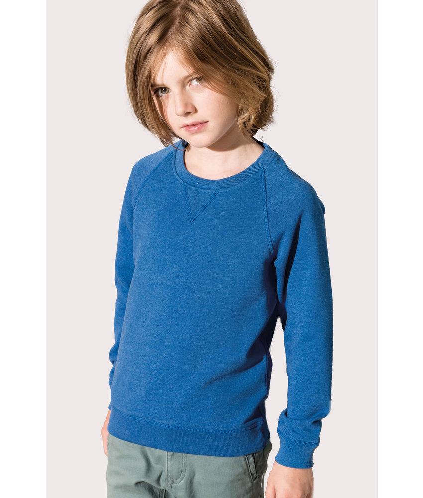 Kariban | K490 | Kids' organic raglan sleeve sweatshirt