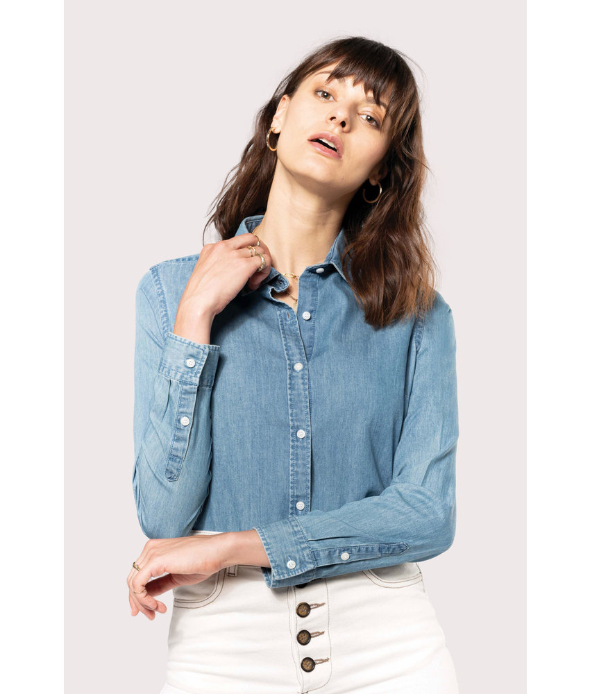 Kariban | K509 | Ladies' Denim shirt