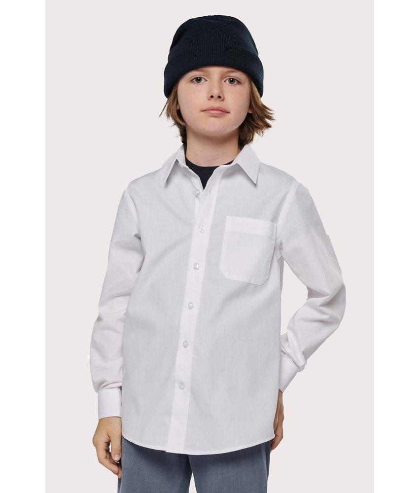 Kariban | K521 | Kid's LONG-SLEEVED Poplin Shirt