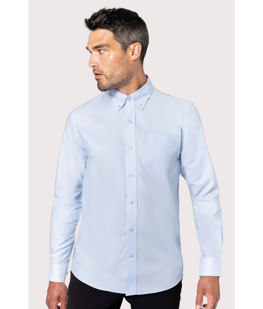 Kariban | K533 | Men's long-sleeved Oxford shirt