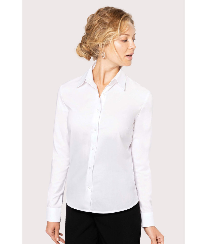 Kariban | K534 | Ladies' long-sleeved Oxford shirt