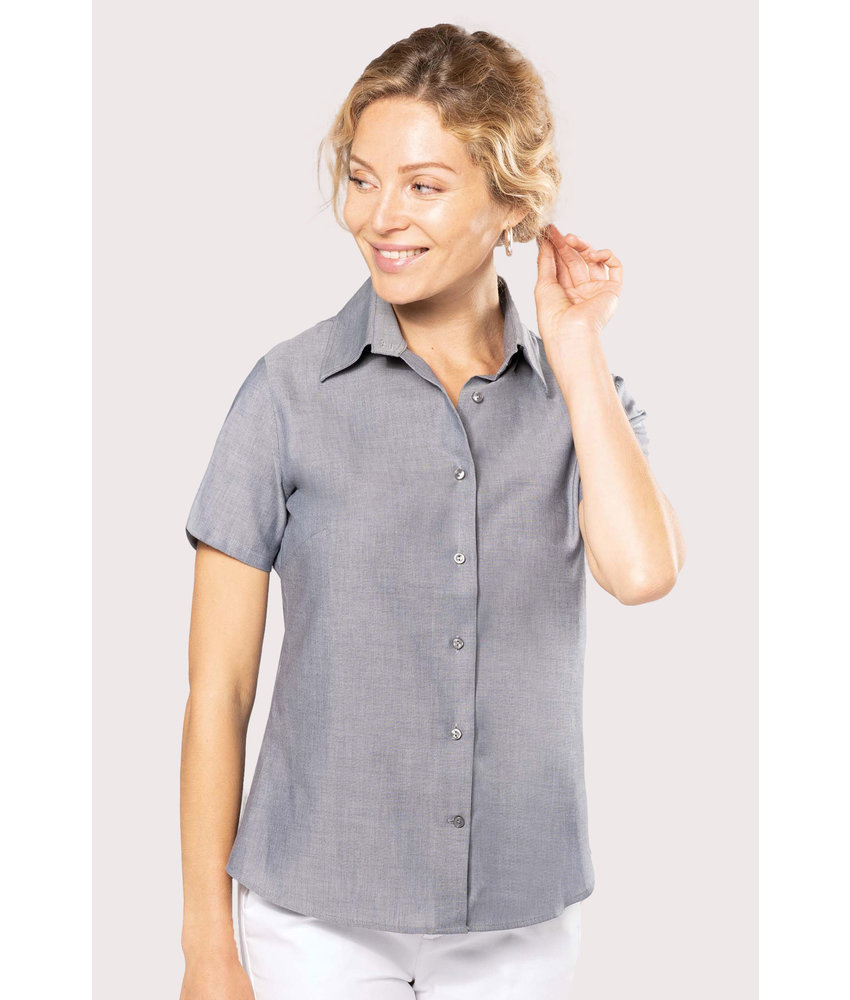 Kariban | K536 | Ladies' short-sleeved Oxford shirt