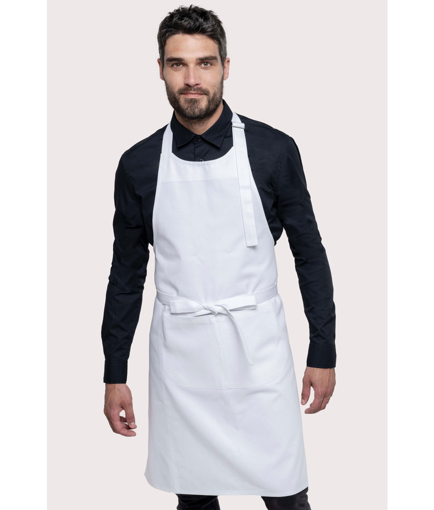 Kariban | K8005 | Cotton apron high-temperature washable