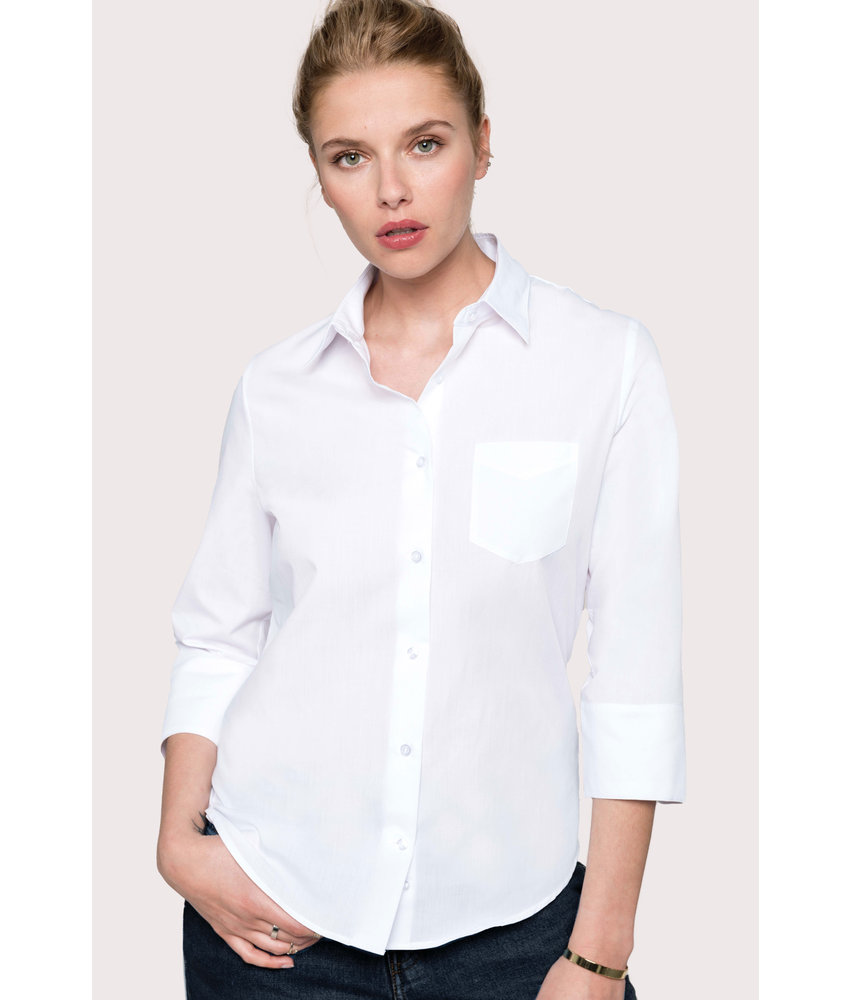 Kariban | K558 | Ladies' 3/4 sleeved shirt