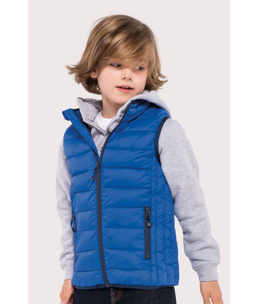 Kariban Kids' lightweight sleeveless down jacket