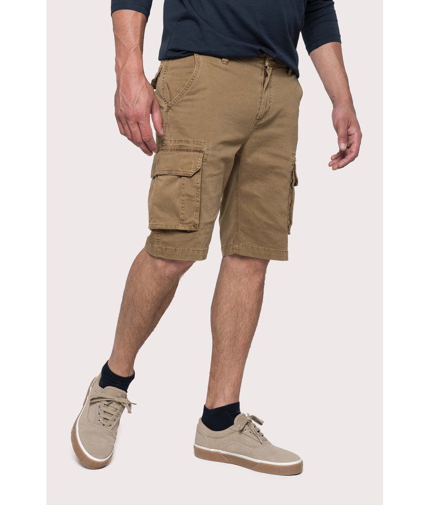 Kariban | K754 | Men's multipocket bermuda shorts