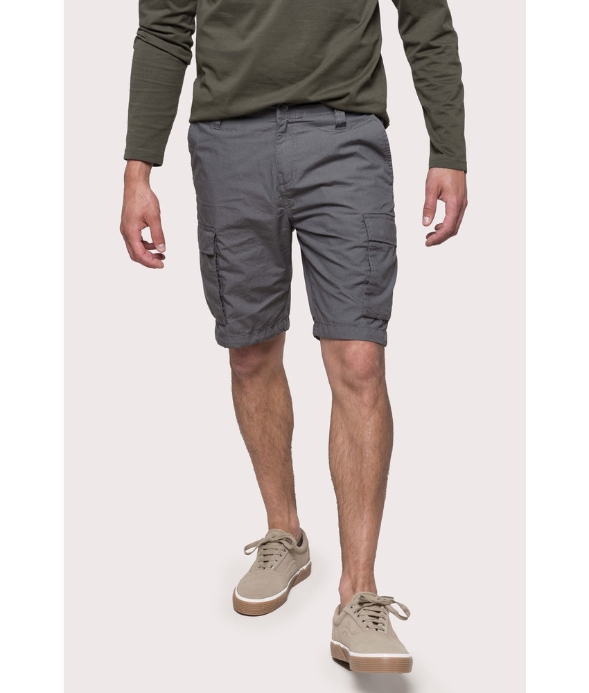 Kariban | K755 | Men's lightweight multipocket bermuda shorts