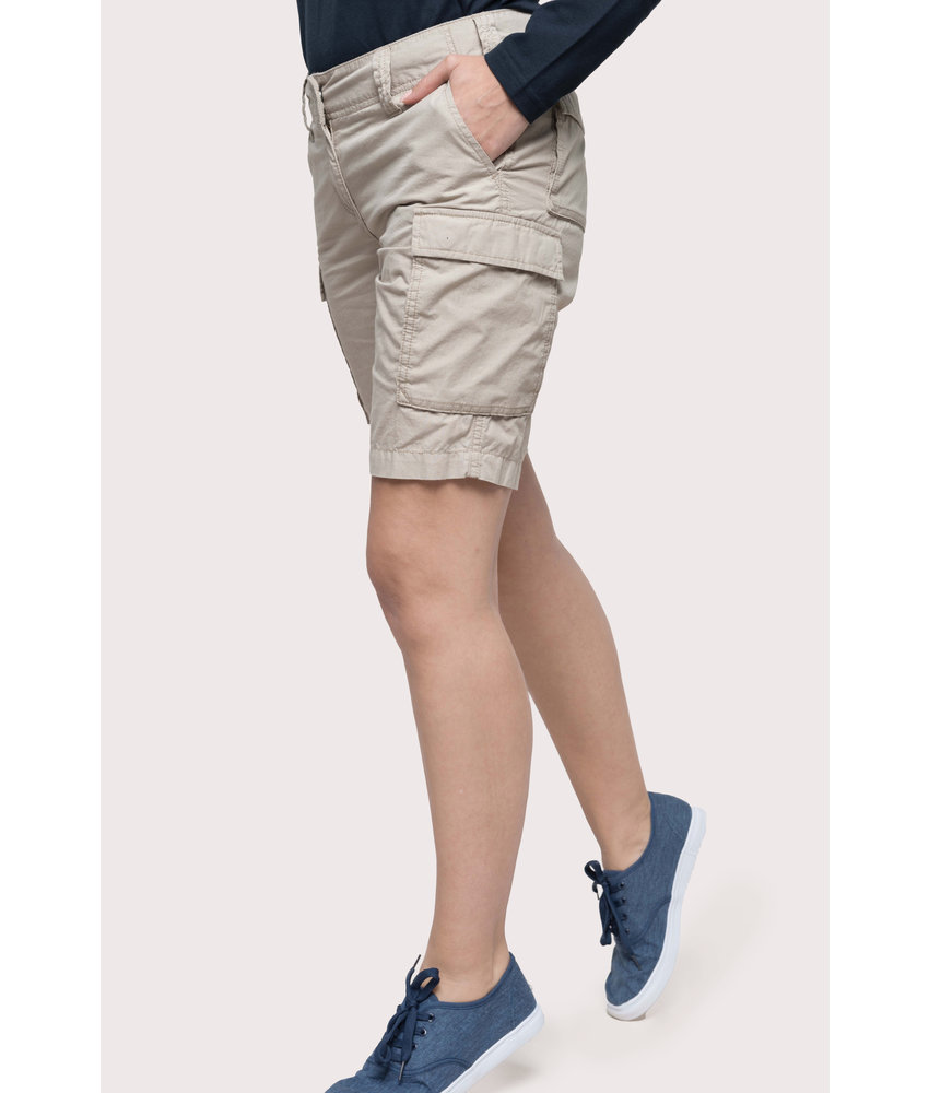 Kariban | K756 | Ladies' lightweight multipocket bermuda shorts