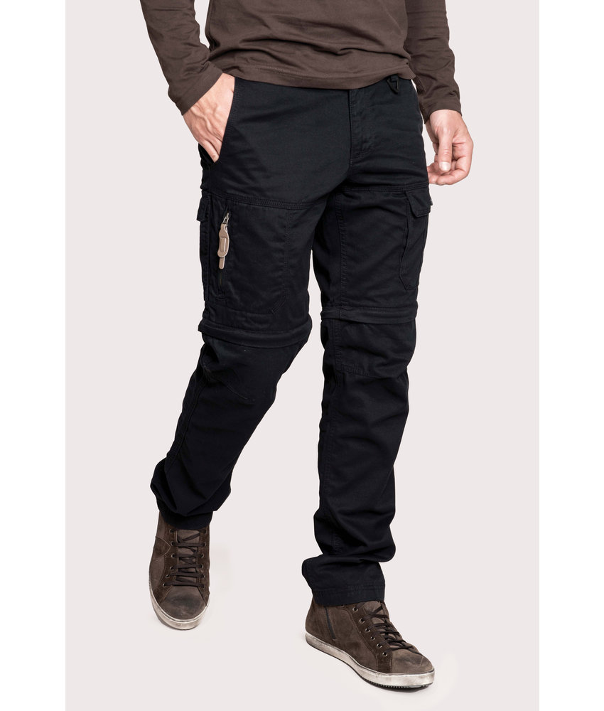 Kariban Heren 2-in-1 broek met meerdere zakken