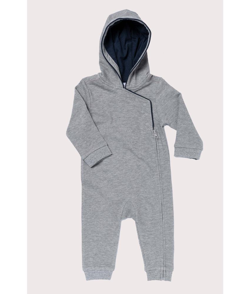 Kariban Babies' Hooded Romper Suit