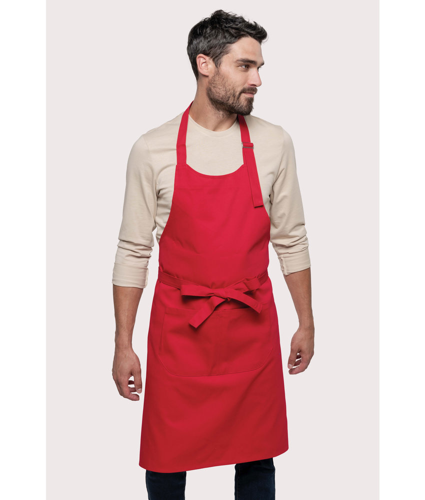 Kariban | K885 | Cotton apron with pocket