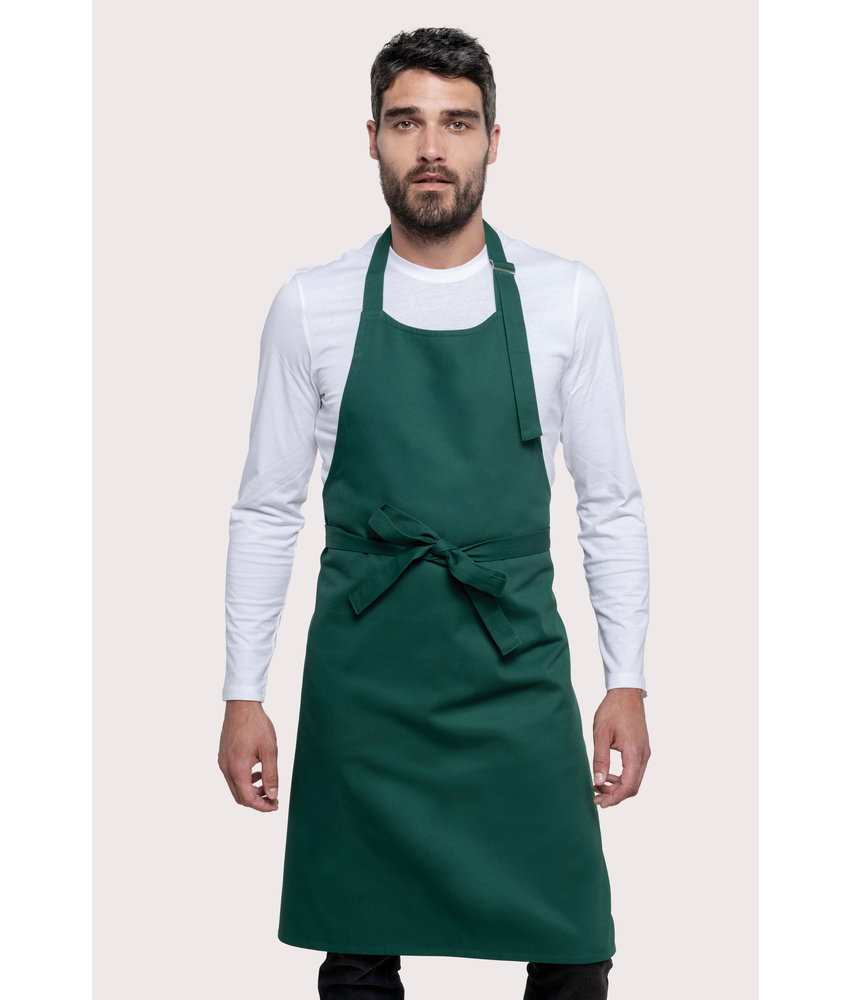 Kariban | K895 | Cotton apron without pocket