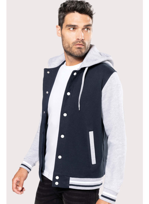 Kariban | K4003 | Unisex Teddy jacket with hood