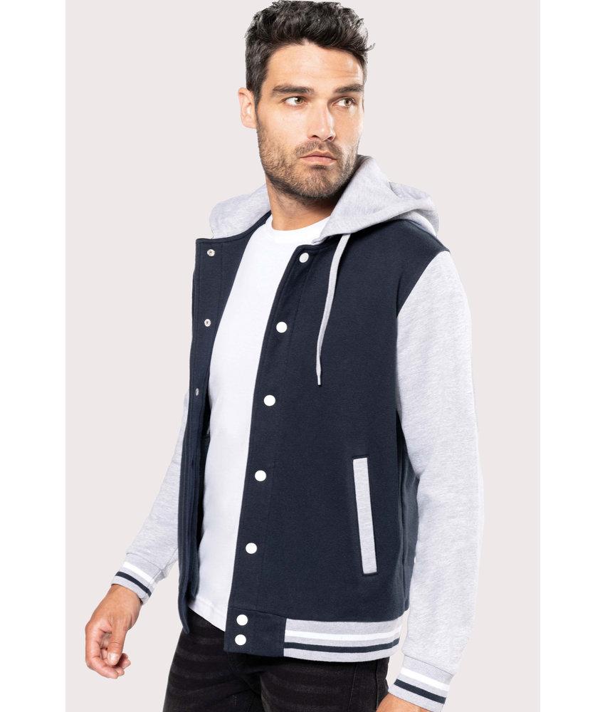 Kariban College jacket met capuchon unisex